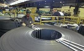 Tratamento de escórias na produção de aço